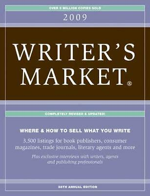 2009 Writer's Market, Brewer, Robert, Good Condition, Book