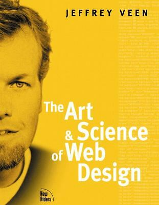 The Art and Science of Web Design, Veen, Jeffrey, Good Condition, Book