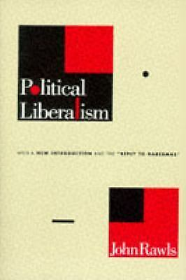 Political Liberalism, Rawls, Professor John, Good Condition, Book