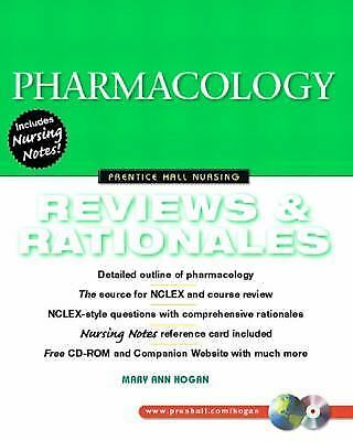 Pharmacology: Reviews and Rationales (Prentice-Hall Nursing Reviews & Rationales
