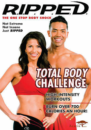 R.I.P.P.E.D. Total Body Challenge, Good DVD, ,