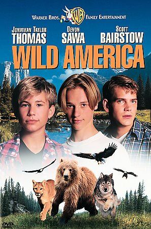 Wild America (Snap Case), Good DVD, Jonathan Taylor Thomas, Devon Sawa, Scott Ba