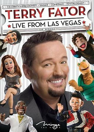 Terry Fator: Live from Las Vegas, New DVD, Terry Fator,