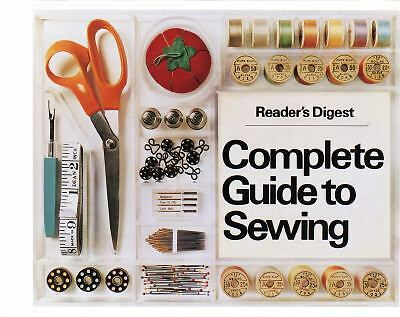 Reader's Digest Complete Guide to Sewing, , Good Book