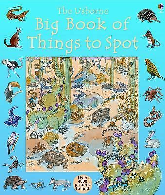 The Usborne Big Book of Things to Spot (Usborne 1001 Things to Spot), Milbourne,