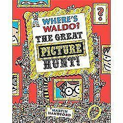 Where's Waldo? The Great Picture Hunt, Handford, Martin, Good Book