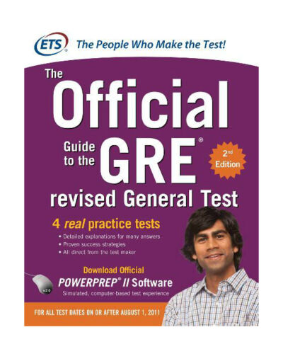 ETS: The Official Guide to GRE (The Offcial Guide to the GRE revised general tes