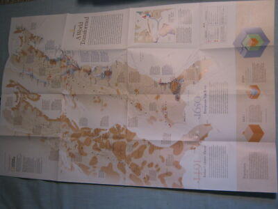 A WORLD TRANSFORMED MAP+ JAMESTOWN & COLONIES National Geographic 2007 MINT