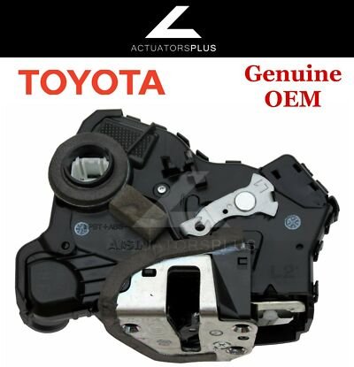 Lexus-Toyota-Scion OEM Front Left Door Lock Actuator 2002-2010 **$30 Refund**