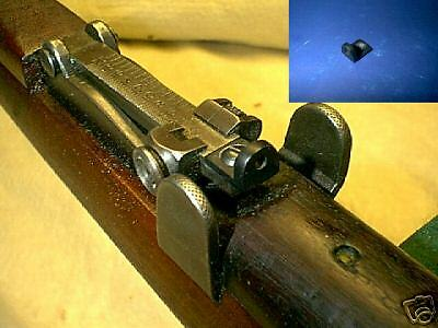 British Lee Enfield SMLE #1  Mk 3 Aperture Peep Sight CNC  Milled  Made In USA