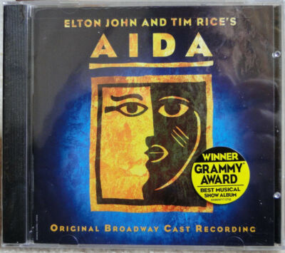 Aida By Elton John & Tim Rice; 2000 CD, Orig. B'way Cast Recording; BRAND NEW