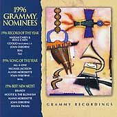 1996 Grammy Nominees by Various (CD, Feb-1996, Sony Music) 40% Donation included