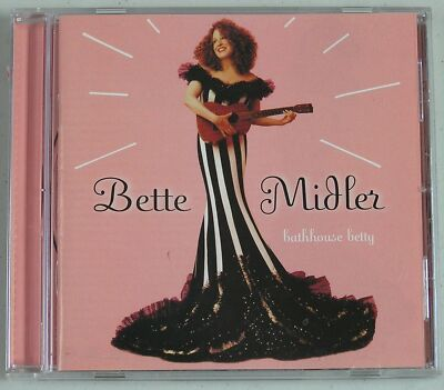 Bathhouse Betty by Bette Midler (CD, Sep-1998, Warner Bros.)