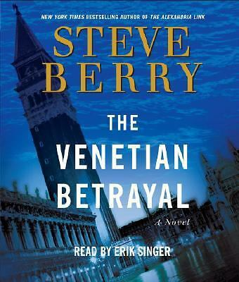 Audiobook  The Venetian Bettrayal by Steve Barry