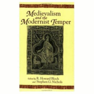Medievalism and the Modernist Temper (Parallax: Re-visions of Culture and Societ