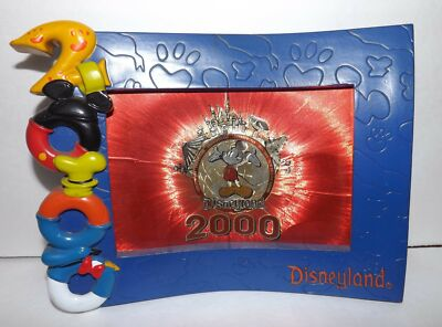 Disneyland souvenir Photo Frame 2000 Millennium
