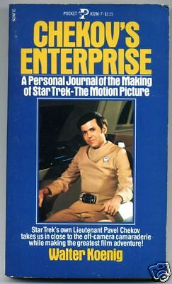 Star Trek Chekov's Enterprise 1980 First Edition