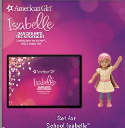 McDonald's American Girl 2014 Isabelle Complete Set Happy Meal Collectible New