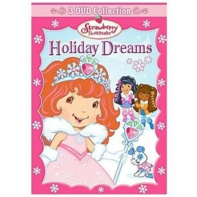 Strawberry Shortcake - Holiday Dreams Collection (DVD, 2008, 3-Disc Set,...