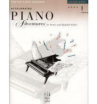 Accelerated Piano Adventures: Lesson Book Level 1, Faber, Randall, Faber, Nancy,