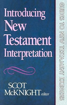 Introducing New Testament Interpretation (Guides to New Testament Exegesis), McK
