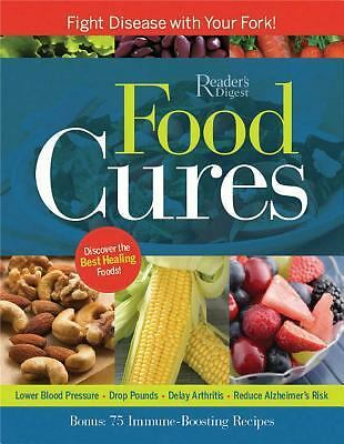 Food Cures : Fight Disease with Your Fork! by Reader's Digest *** Softcover ***