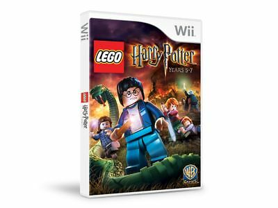 LEGO Harry Potter Video Game Years 5-7 Nintendo Wii 2011 rated E10+