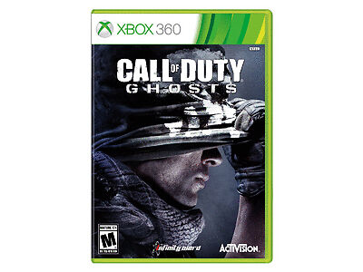 Call of Duty: Ghosts Xbox 360 2013 Call of Duty Ghost New Sealed 047875846814