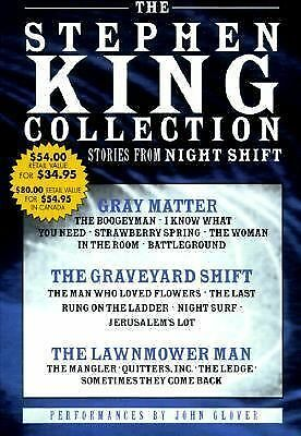 The Stephen King Value Collection: Lawnmower Man, Gray Matter, and Graveyard Shi