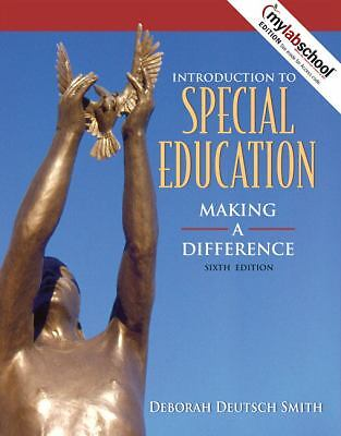 Introduction to Special Education: Making a Difference (Book Alone) (6th Edition