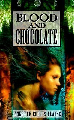 BLOOD AND CHOCOLATE by Annette Curtis Klause  paranormal pb