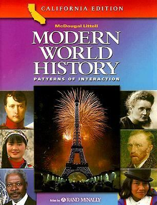 Modern World History Patterns of Interaction California Edition, Roger B. Beck,