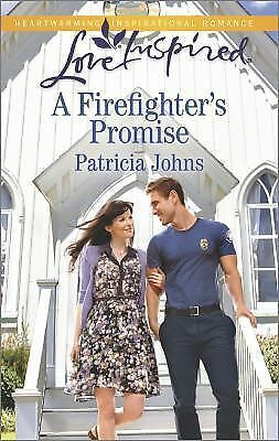 A Firefighter's Promise (Love Inspired): Johns, Patricia