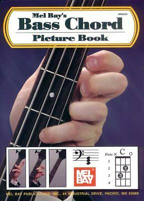 Mel Bay Bass Chord Picture Book, Bay, William, Acceptable Book