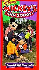 Sing Along Songs - Campout at Walt Disney World [VHS] by