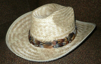 CUSTOM Real Pheasant Feather Hat Band w/Repeating Pattern ~ Handmade in USA!