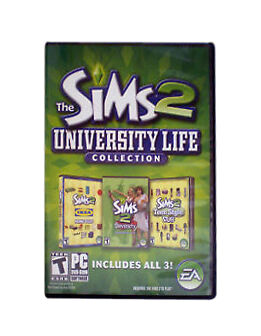 The Sims 2 University Life Collection - PC: Electronic Arts
