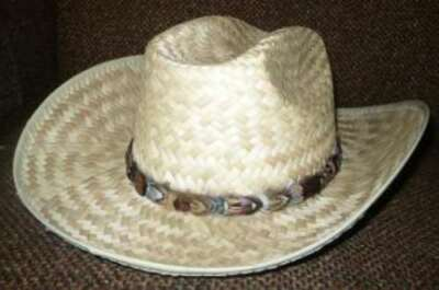 CUSTOM Pheasant Feather Mini Hat Band - One Feather Wide - Handmade in USA!