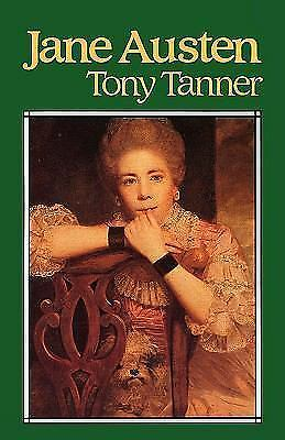 Jane Austen by Tony Tanner (1986, Paperback)