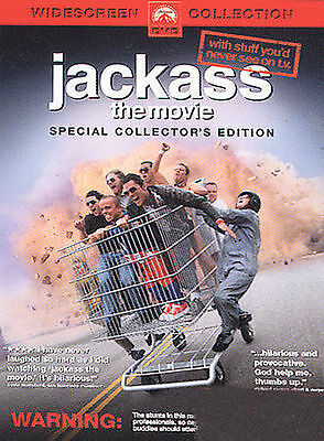 Jackass: The Movie (DVD, 2003, Widescreen)