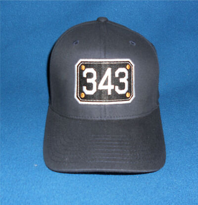 343 Never Forget Firefighter Ball Cap FDNY 9-11 Firefighter Passport hat