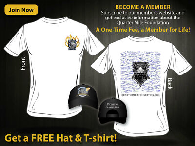 "Project 1320 T-Shirt/ Membership, ""We are Legend"". One time purchase, no renewal"