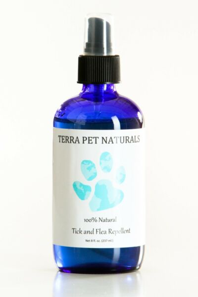 100% Natural Tick and Flea Repellent Spray