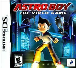 Astro Boy The Video Game Nintendo DS w/ case and manual - used
