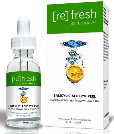 Salicylic Acid 2% Gentle Daily Peel -  Professional BHA Chemical Peel