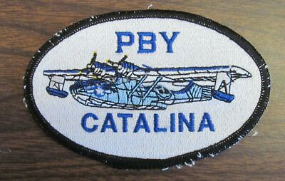 PBY Catalina Aircraft USA Made Patches WWII  by All Star Warbirds Custom Embroi