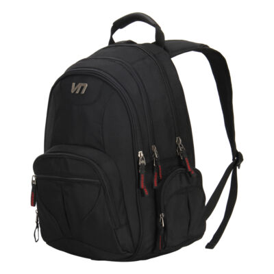 Veevan Black Professional Men's Backpack Office Bag Laptop Briefcases School Bag