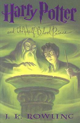 Harry Potter and the Half-Blood Prince (Book 6), J. K. Rowling