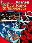Holt Science and Technology Indiana: Student Edition Grade 7 2005, HOLT, RINEHA