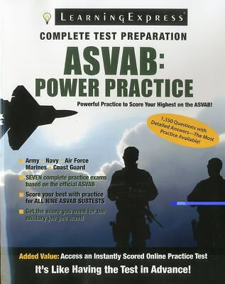 ASVAB: Power Practice, Editors of LearningExpress LLC